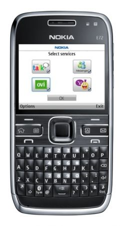 Nokia E72 at present in supply in the Novel Earth -- the US, to be definite