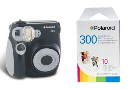 Polaroid Launches PIC-300 Instant Camera