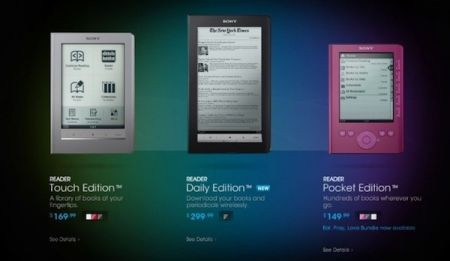 Sony cuts e-reader prices: Pocket Edition right away $149