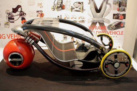 Nagoya Institutes folding X-Frame automobile lacks S-foils, hyperdrive, rolls upon the large orange round