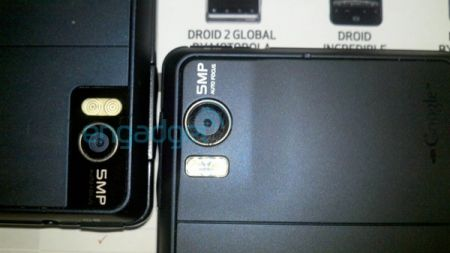 Droid 2 Global GSM bands sealed, camera gush combined to box