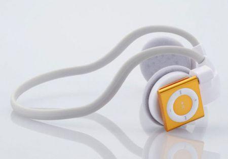Elecom Unveils Wireless Actrail Headphones For iPod Shuffle