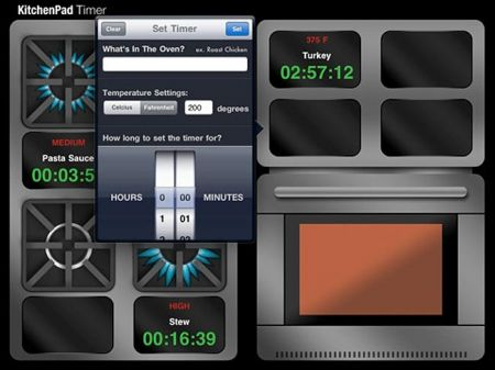 KitchenPad Timer App Help You Prepare The Perfect Meal