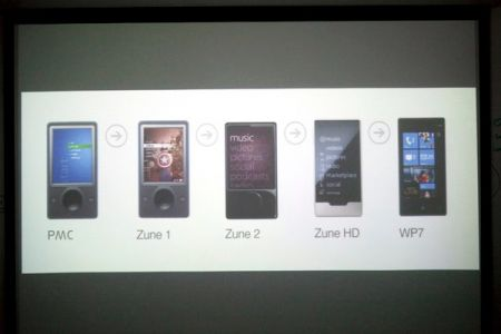 Microsoft slip chronicles a tour from Portable Media Center to Windows Phone 7