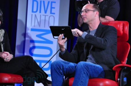 Googles Andy Rubin live from D: Dive Into Mobile