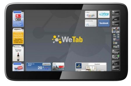 WeTab OS as well as developer collection right away accessible