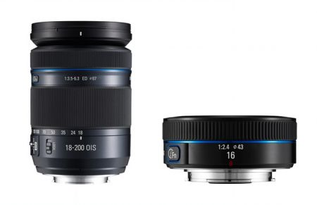 Five New Lenses Show Samsung Is Serious About Mirrorless