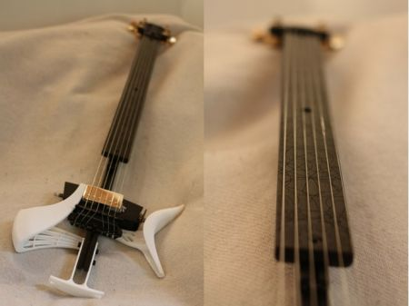 Open Source Guitar Kit With 3-D Printed Body